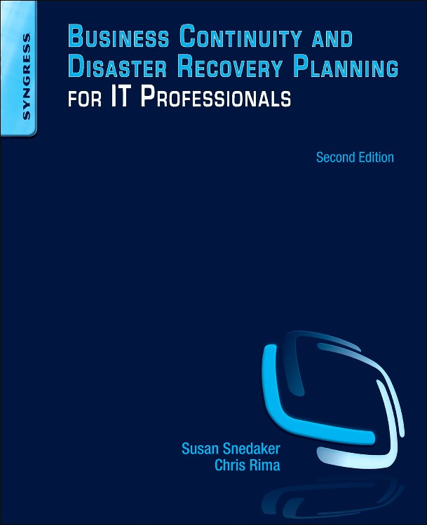 Abbildung von Snedaker | Business Continuity and Disaster Recovery Planning for IT Professionals | 2013