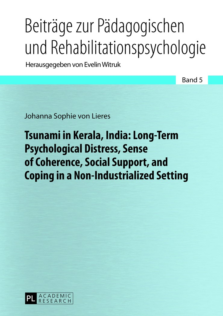Abbildung von von Lieres | Tsunami in Kerala, India: Long-Term Psychological Distress, Sense of Coherence, Social Support, and Coping in a Non-Industrialized Setting | 2013