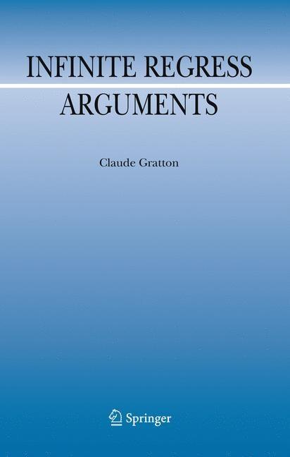 Abbildung von Gratton | Infinite Regress Arguments | 1st Edition. | 2010