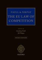 Abbildung von Faull / Nikpay | The EU Law of Competition | 3., überarbeitete Auflage | 2014