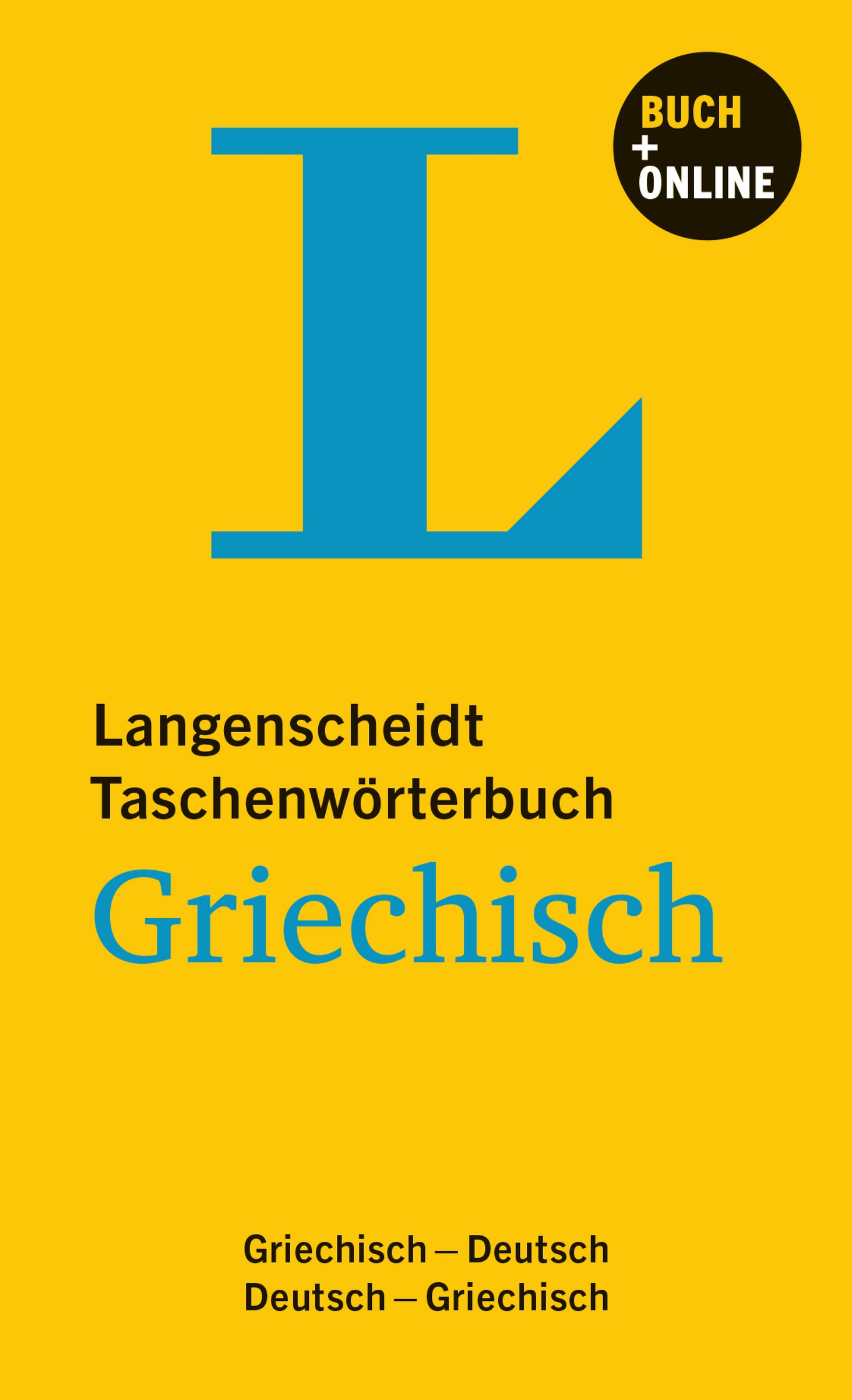 Abbildung von Langenscheidt | Langenscheidt Taschenwörterbuch Griechisch | 2013