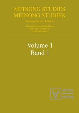 Abbildung von Schramm | Meinongian Issues in Contemporary Italian Philosophy | 1. Auflage | 2013 | 1 | beck-shop.de