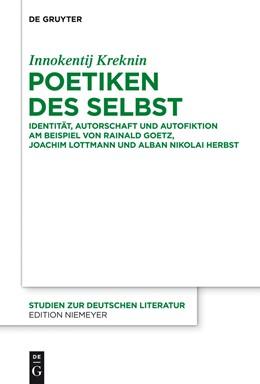 Abbildung von Kreknin | Poetiken des Selbst | 2014 | Identität, Autorschaft und Aut... | 206