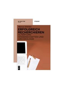 Abbildung von Schröter | Erfolgreich recherchieren - Altertumswissenschaften und Archäologie | 2016
