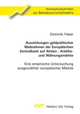 Abbildung von Faber   Auswirkungen geldpolitischer Maßnahmen der Europäischen Zentralbank auf Aktien-, Anleihe- und Währungsmärkte   2010   Eine empirische Untersuchung a...   153