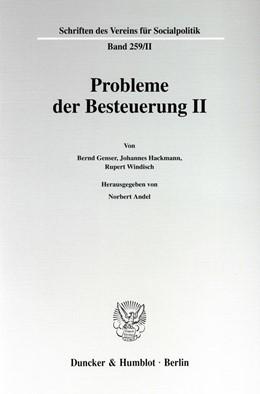 Abbildung von Andel   Probleme der Besteuerung II.   1999   259/II