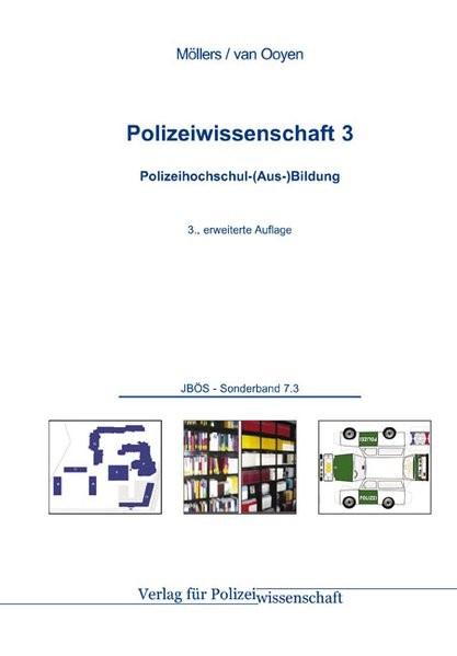 Abbildung von Möllers / Ooyen   Polizeihochschul-(Aus-)Bildung   3., erweiterte Auflage   2013