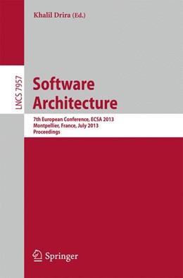 Abbildung von Drira | Software Architecture | 2013