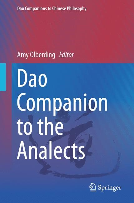 Dao Companion to the Analects | Olberding, 2013 | Buch (Cover)