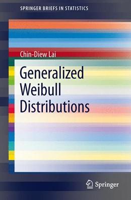 Abbildung von Lai | Generalized Weibull Distributions | 2013