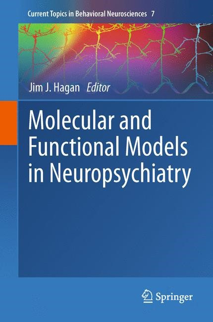 Abbildung von Hagan | Molecular and Functional Models in Neuropsychiatry | 2013