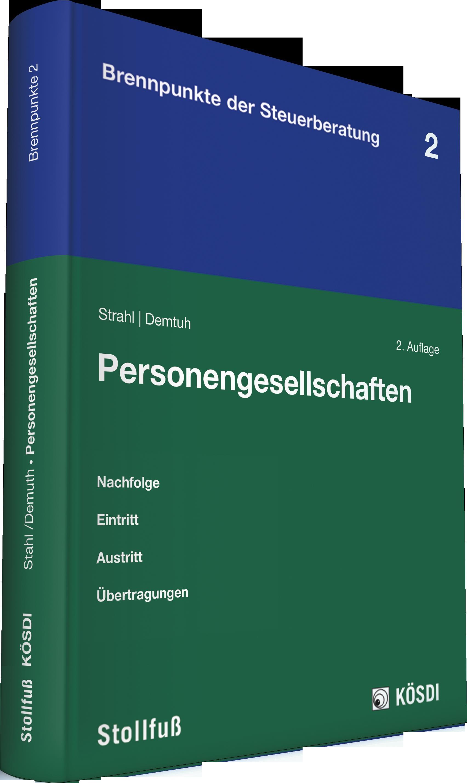 Abbildung von Strahl / Demuth (Hrsg.) | Personengesellschaften | 2013
