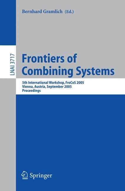 Abbildung von Gramlich | Frontiers of Combining Systems | 2005