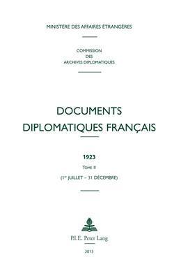 Abbildung von Documents diplomatiques français | 2013 | 1923 – Tome II (1er juillet – ... | 10
