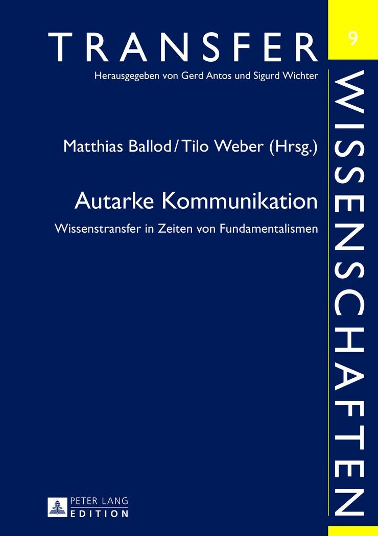Abbildung von Weber / Ballod   Autarke Kommunikation   2013