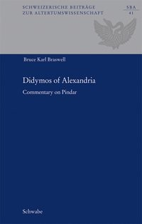 Didymos of Alexandria | Braswell / Billerbeck | 2., überarbeiteter Nachdruck, 2017 | Buch (Cover)
