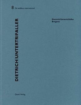 Abbildung von Hollenstein / Wirz   Dietrich Untertrifaller   2013