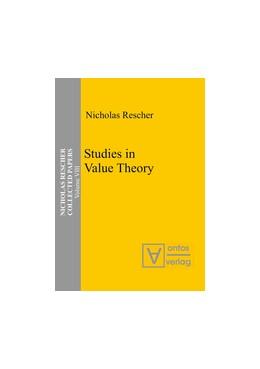 Abbildung von Rescher | Studies in Value Theory | 1. Auflage | 2013 | Collected Papers 8