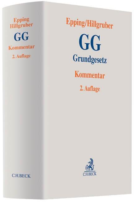 Grundgesetz: GG | Epping / Hillgruber | Buch (Cover)