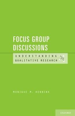 Abbildung von Hennink   Understanding Focus Group Discussions   2014