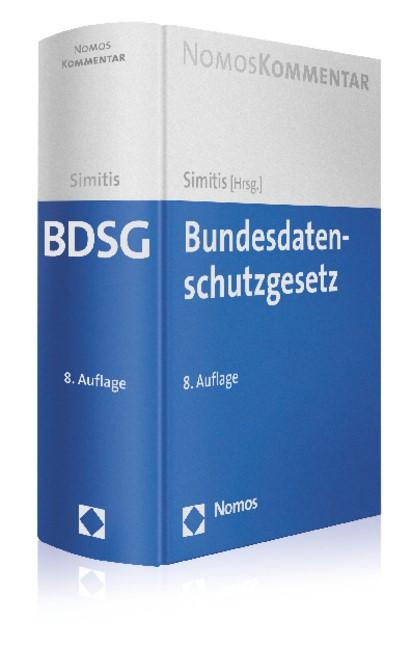 Bundesdatenschutzgesetz | Simitis (Hrsg.) | 8., neu bearbeitete Auflage, 2014 | Buch (Cover)