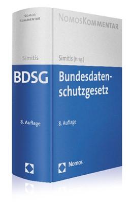 Abbildung von Simitis (Hrsg.)   Bundesdatenschutzgesetz   8. Auflage   2014   beck-shop.de