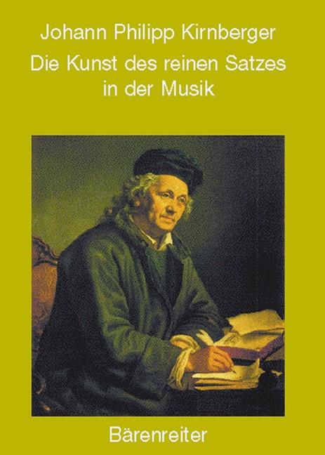 Abbildung von Kirnberger | Die Kunst des reinen Satzes in der Musik | Reprint d. Ausg. Berlin 1771 | 2004