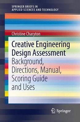 Abbildung von Charyton   Creative Engineering Design Assessment   2013   Background, Directions, Manual...