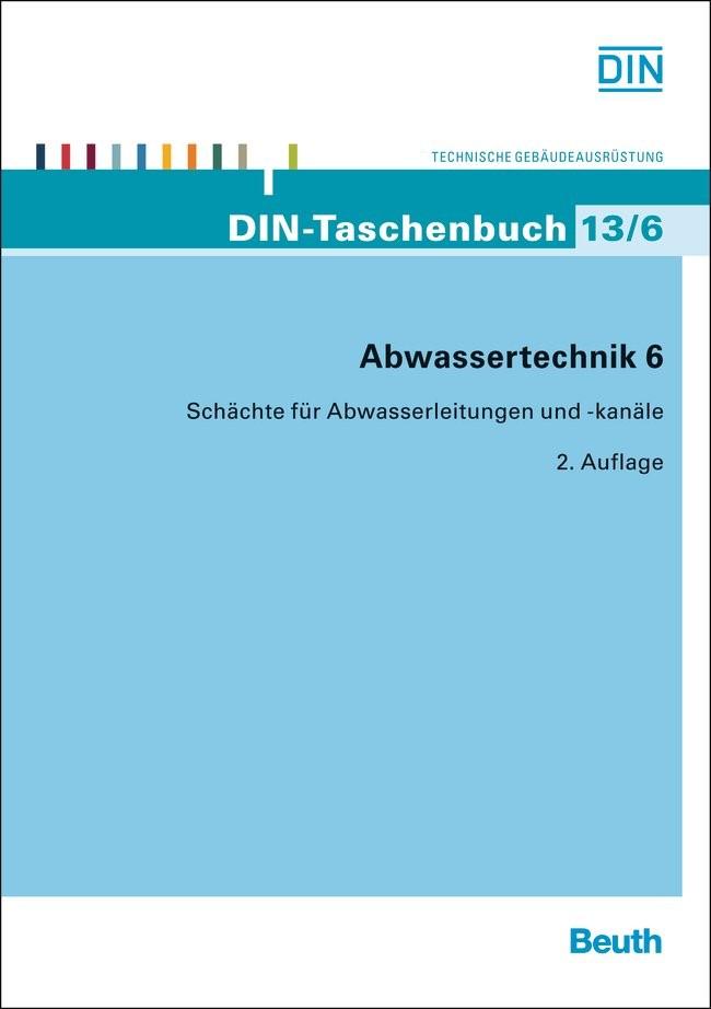 Abwassertechnik 6, 2013 | Buch (Cover)
