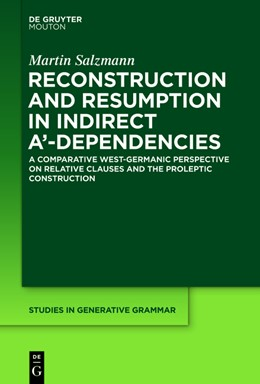 Abbildung von Salzmann | Reconstruction and Resumption in Indirect A'-Dependencies | 2017 | On the Syntax of Prolepsis and... | 117