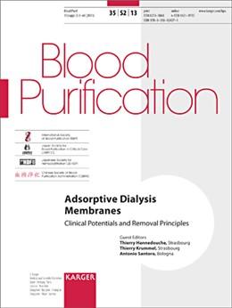 Abbildung von Hannedouche / Krummel / Santoro | Adsorptive Dialysis Membranes | 2013 | Clinical Potentials and Remova...