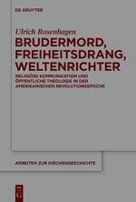 Abbildung von Rosenhagen | Brudermord, Freiheitsdrang, Weltenrichter | 2015