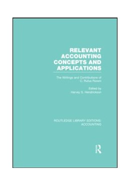 Abbildung von Hendrickson   Relevant Accounting Concepts and Applications (RLE Accounting)   1. Auflage   2013   beck-shop.de