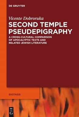 Abbildung von Dobroruka   Second Temple Pseudepigraphy   1. Auflage   2013   4   beck-shop.de