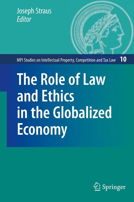 Abbildung von Straus | The Role of Law and Ethics in the Globalized Economy | 2009