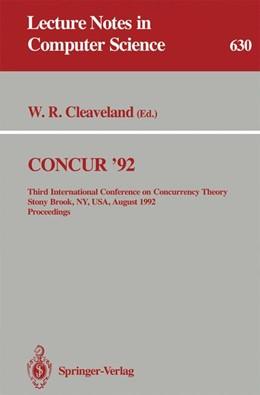 Abbildung von Cleaveland   CONCUR '92   1992   Third International Conference...   630