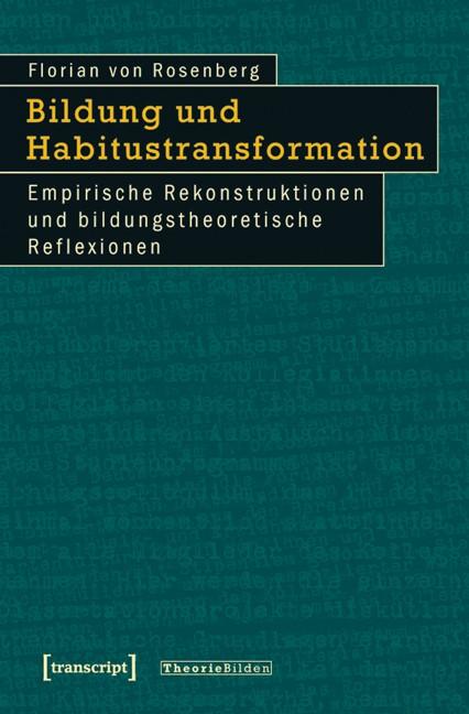 Abbildung von Rosenberg   Bildung und Habitustransformation   2011