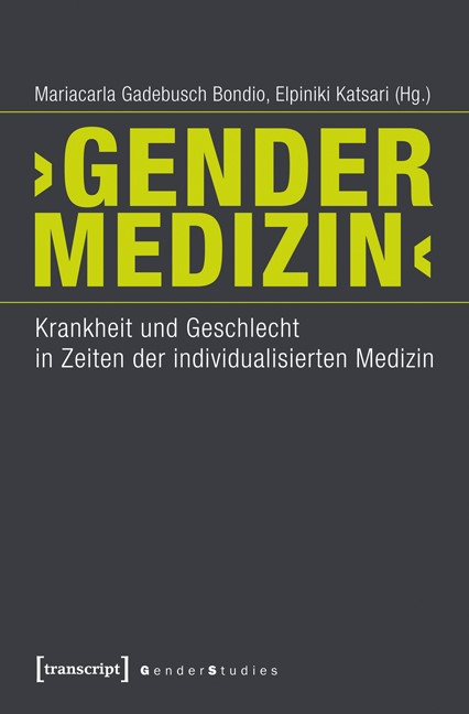 Abbildung von Gadebusch Bondio / Katsari | 'Gender-Medizin' | 2014