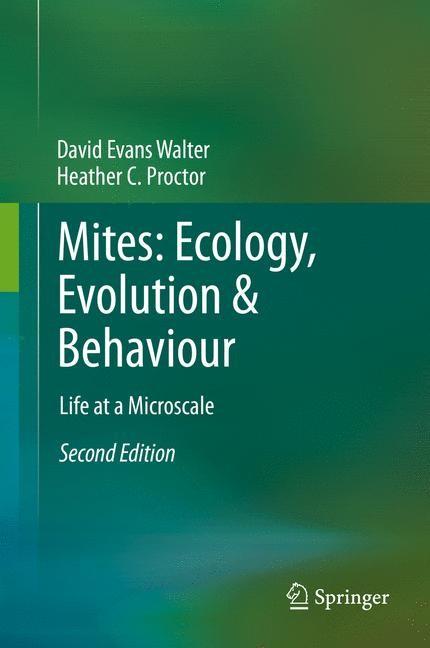 Abbildung von Walter / Proctor   Mites: Ecology, Evolution & Behaviour   2013