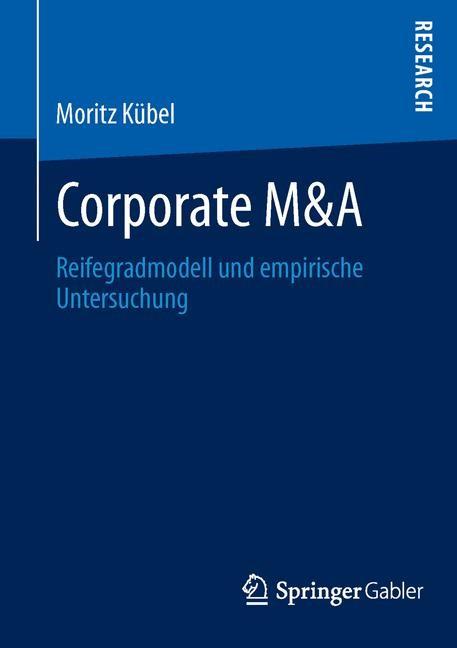 Abbildung von Kübel | Corporate M&A | 2013 | 2013