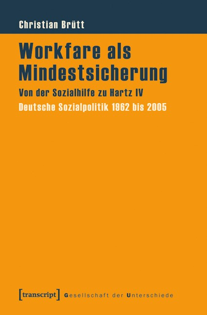 Abbildung von Brütt | Workfare als Mindestsicherung | 2011