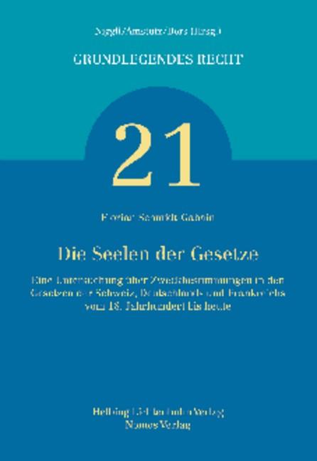 Abbildung von Schmidt-Gabain | Die Seelen der Gesetze | 2014