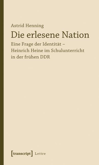Abbildung von Henning | Die erlesene Nation | 2011