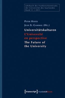 Abbildung von Hayes / El Gammal | Universitätskulturen - L'Université en perspective - The Future of the University | 2012 | 11