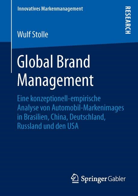 Abbildung von Stolle | Global Brand Management | 2013 | 2013