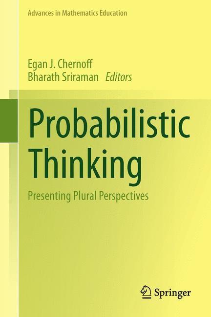 Abbildung von Chernoff / Sriraman | Probabilistic Thinking | 2013