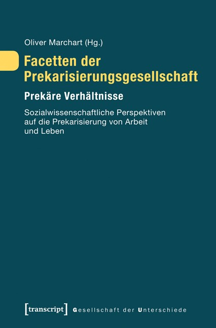 Abbildung von Marchart | Facetten der Prekarisierungsgesellschaft | 2013