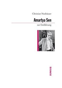 Abbildung von Neuhäuser   Amartya Sen zur Einführung   2013