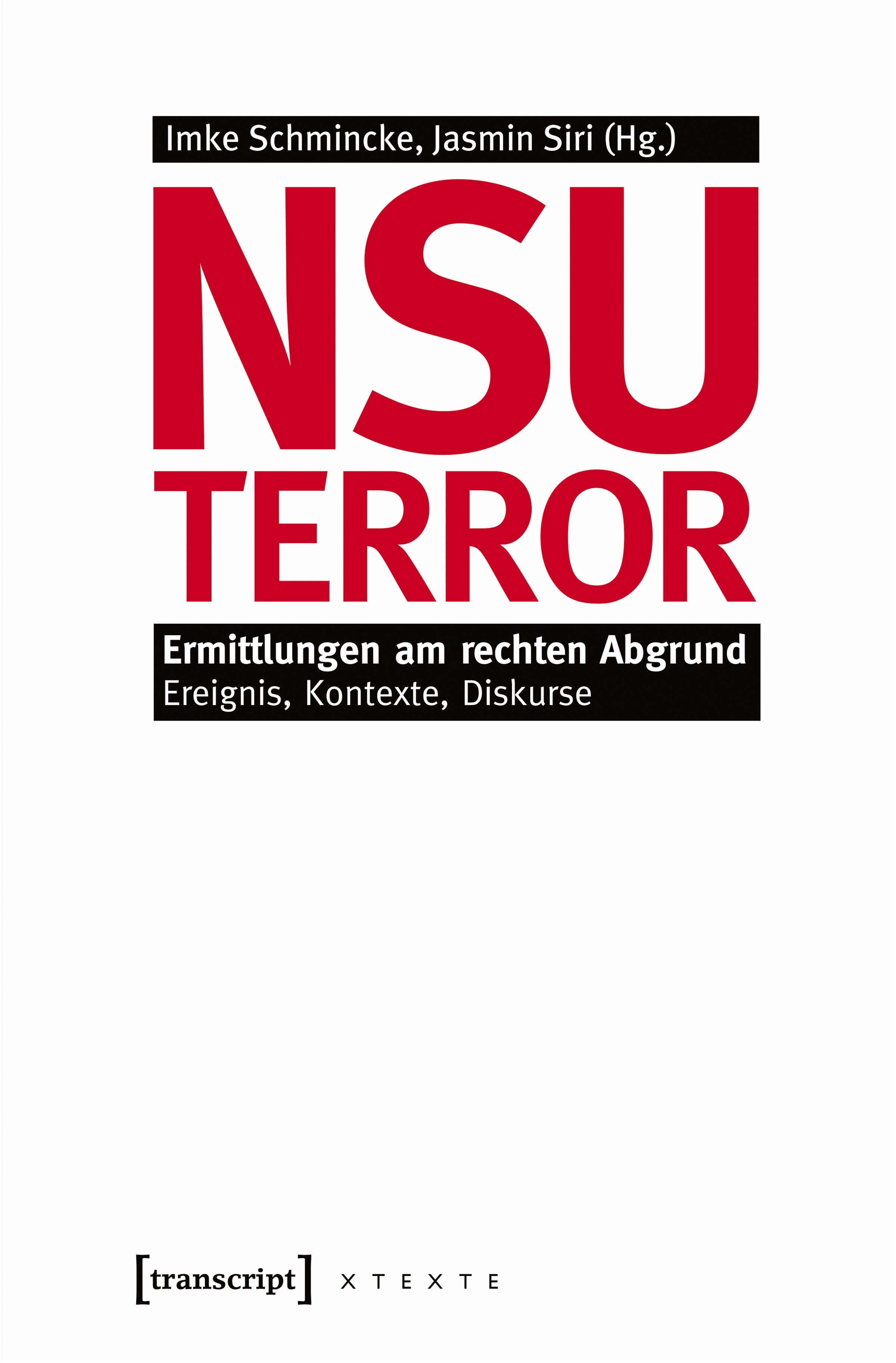 Abbildung von Schmincke / Siri | NSU-Terror | 2013