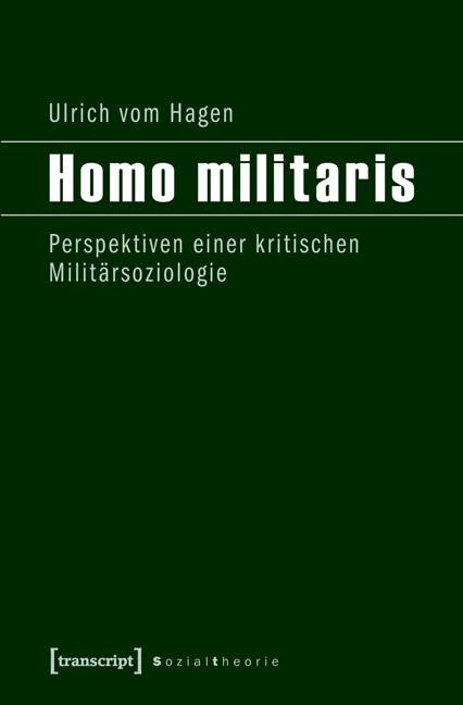 Abbildung von vom Hagen | Homo militaris | 2012